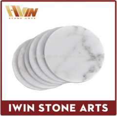 Carrara White Marble Coaster