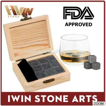 wholesale Ice cubes whiskey stones Wine Cooler