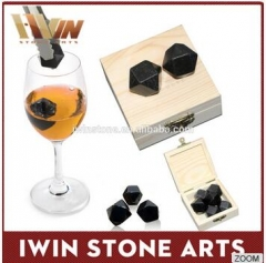Black Whiskey Stones