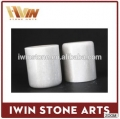 Natural Stone Candle Jars