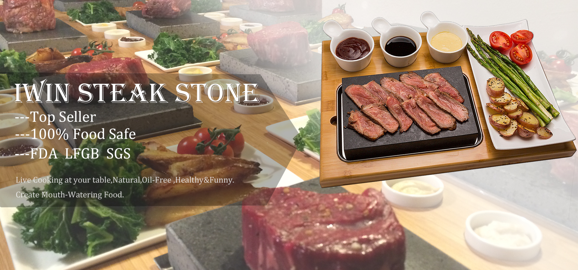 rock steak stone