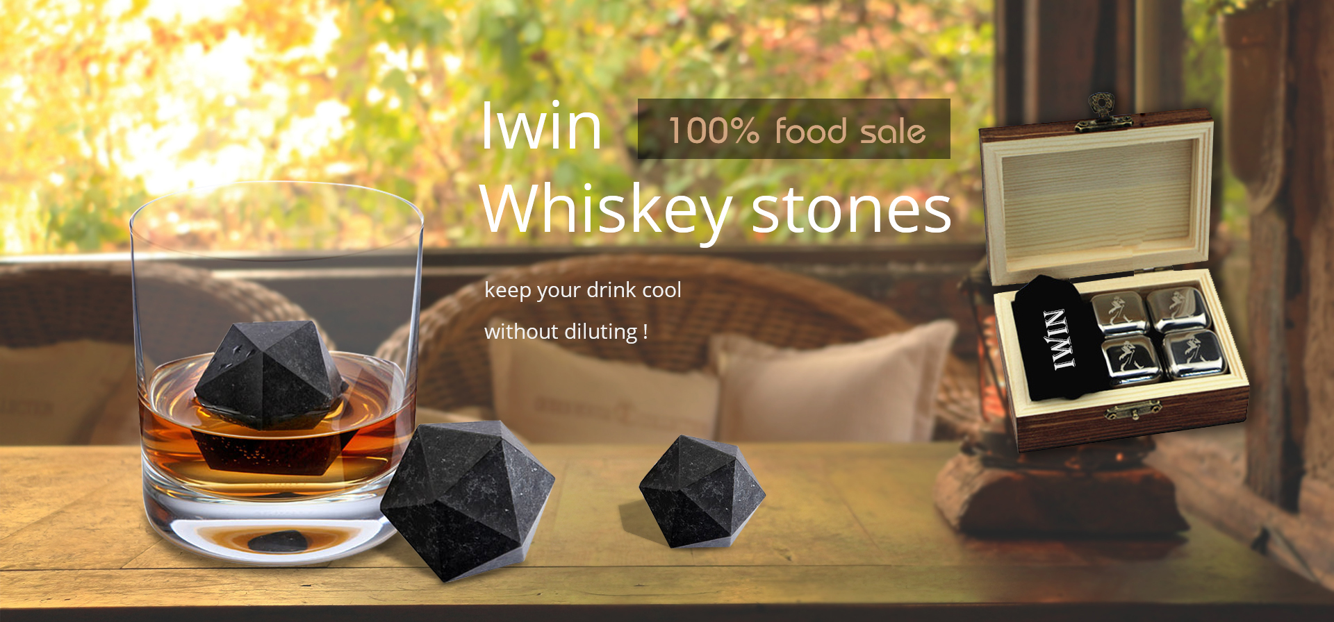 Ice Whiskey Stone