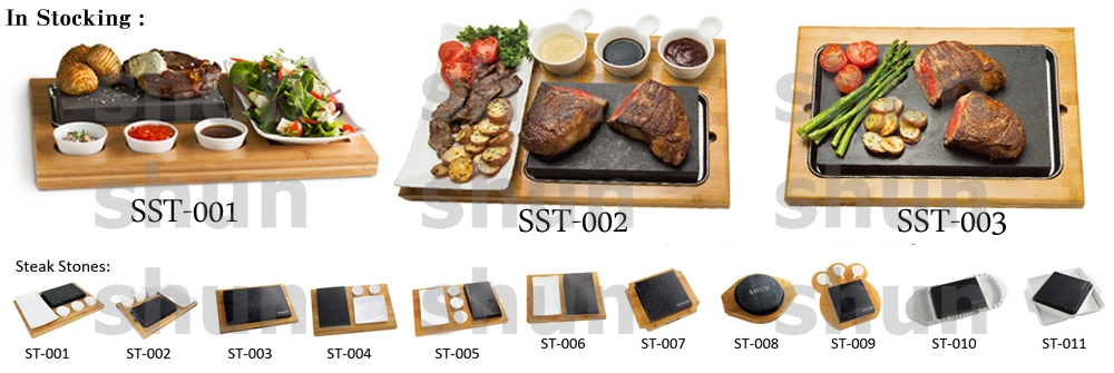 Our Own Design Lava Stone Cooking Set